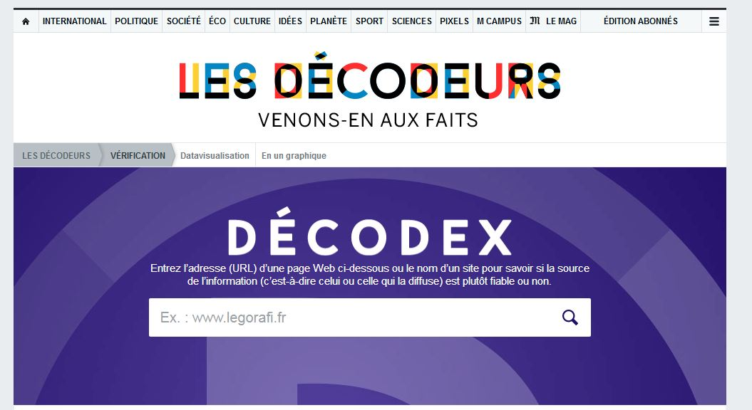 Hoaxbuster decodex