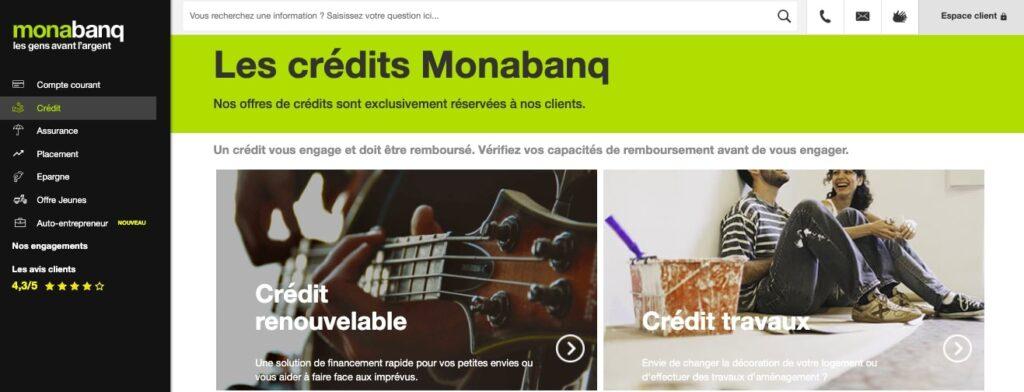 Avis Monabanq : produits bancaires