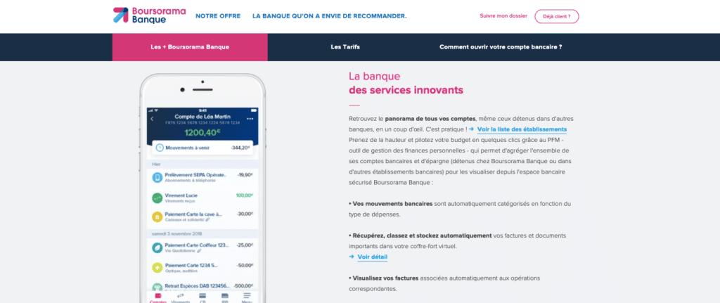 Avis Boursorama : l'appli mobile