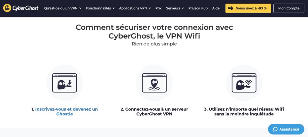 Avis CyberGhost : sécurité