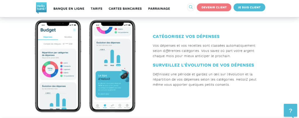 Avis Hello Bank : appli mobile