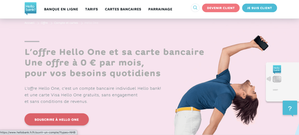 Avis Hello Bank : Hello One