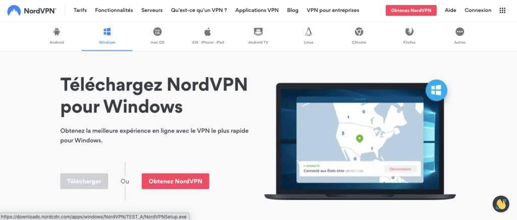 Avis NordVPN : installation et prise en main