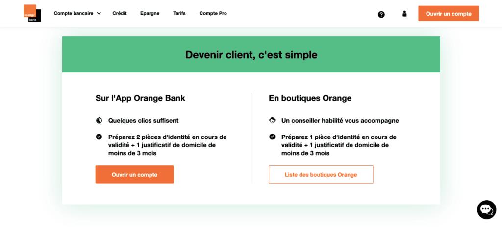 Avis clients Orange Bank