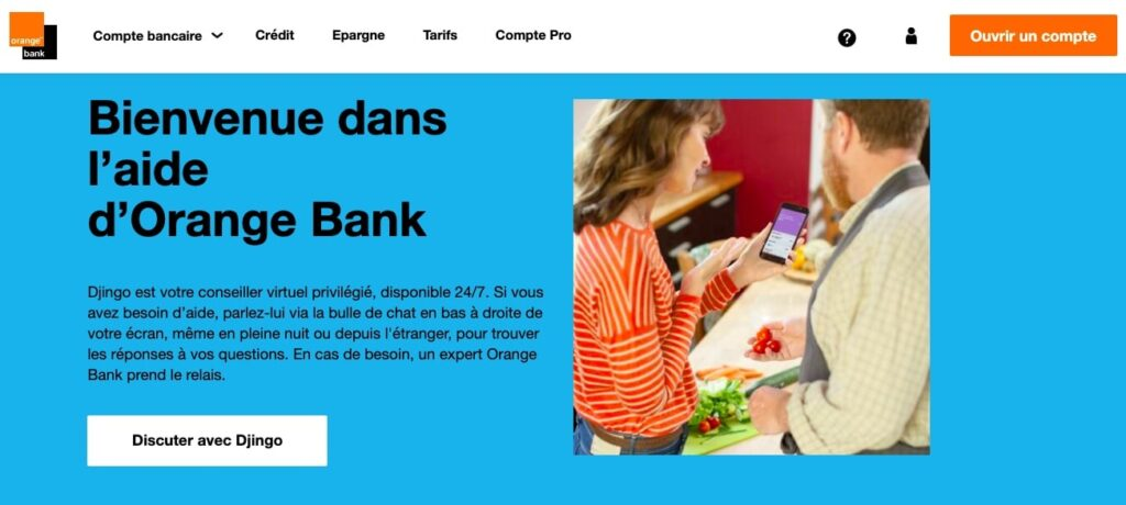 Avis Orange Bank : service client