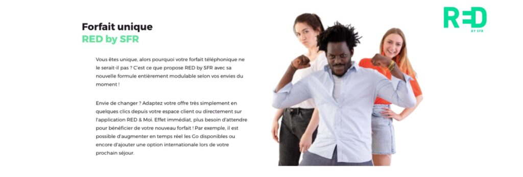 Avis Red By Sfr : les forfaits