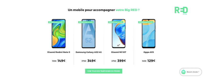 Avis RED by SFR : les forfaits avec smartphone