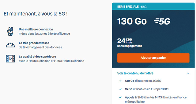 Serie speciale 5g