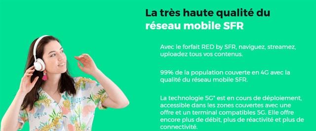 Forfait mobile redbysfr 80Go