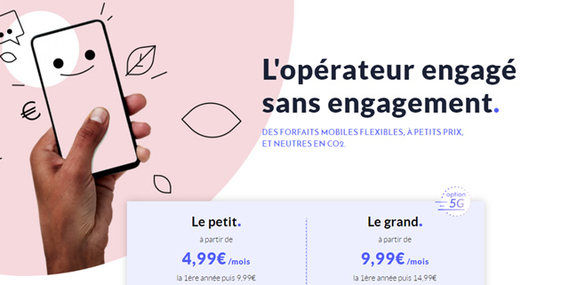 Forfait mobile moins cher
