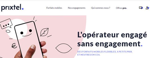 forfait mobile Prixtel pas cher